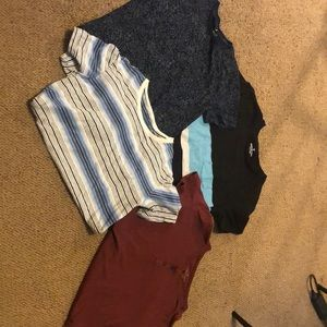 Lot of 4 American Eagle T shirts tops Small Men's